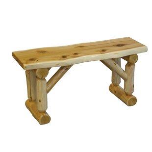 Grena Cedar Wood Bench