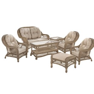 Oglethorpe Garden Conversation 7 Piece Sofa Seating Group With Cushions By August Grove
