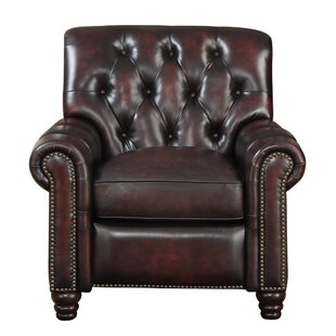 Leather Manual Recliner by At ..