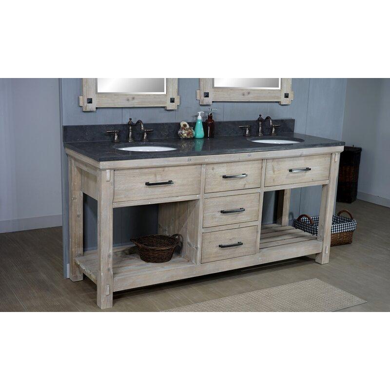 Union Rustic Bartley 72 Double Bathroom Vanity Set Wayfair