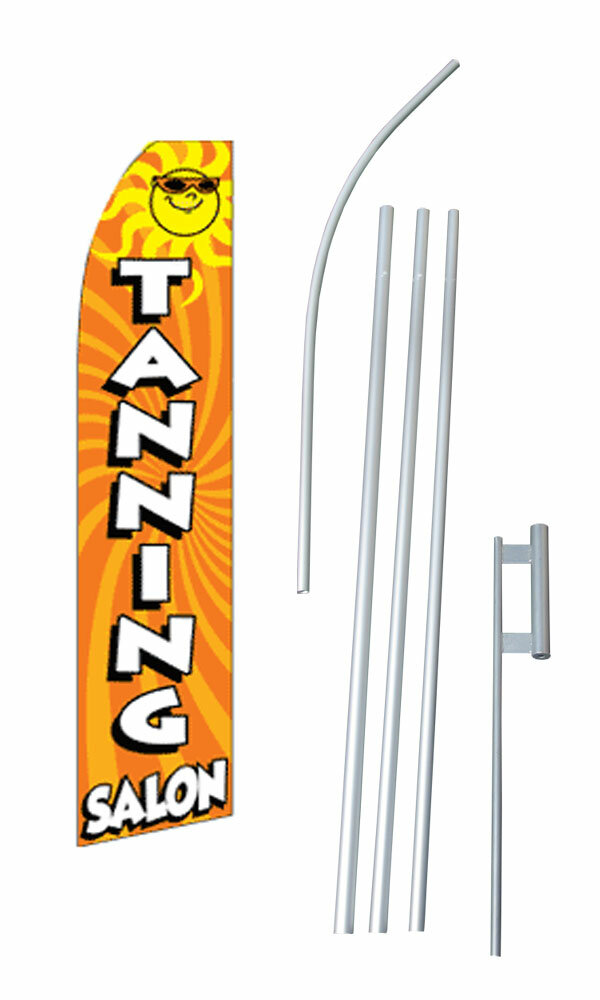 Neoplex Tanning Salon With Sun Polyester 180 X 30 In Flag Set Wayfair