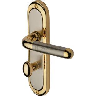 Vienna Bathroom Door Handle (Set of 2) by Heritage Brass
