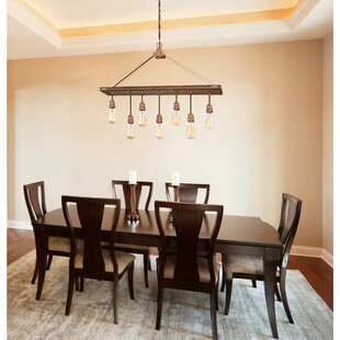 rectangular dining room light modern quickview crystal squarerectangle chandeliers youll love wayfair