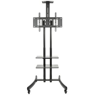 TV Cart Mobile Wheels Fixed Floor Stand Mount for 30 inch  - 70 inch  LCD LED Flat Screens