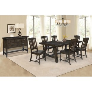 Burket 8 Piece Dining Set Foundry Select