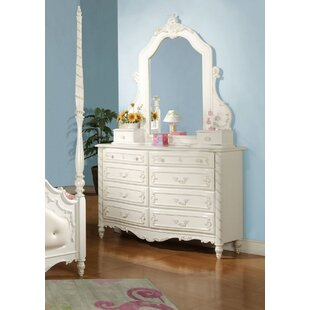 Reviews Eshelman 10 Drawer Dresser with Mirror by Harriet Bee Reviews (2019) & Buyer's Guide