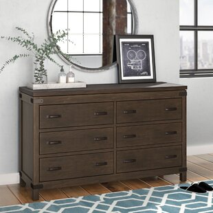 Beartree 6 Drawer Double Dresser by Trent Austin Design