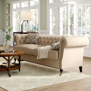 Purchase Calila Chesterfield Sofa by Birch Lane™ Heritage Reviews (2019) & Buyer's Guide