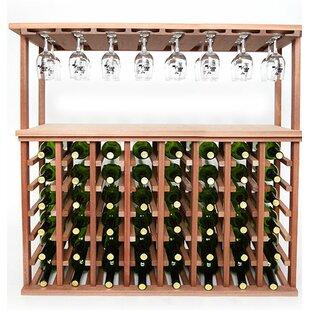 48 Bottle Floor Wine Rack by Wineracks.com