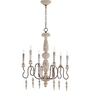 House of Hampton Loveland 6-Light Chandel..
