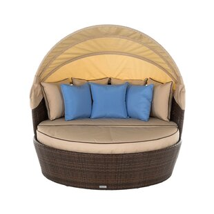Lillian Garden Daybed with Cushions by Lynton Garden