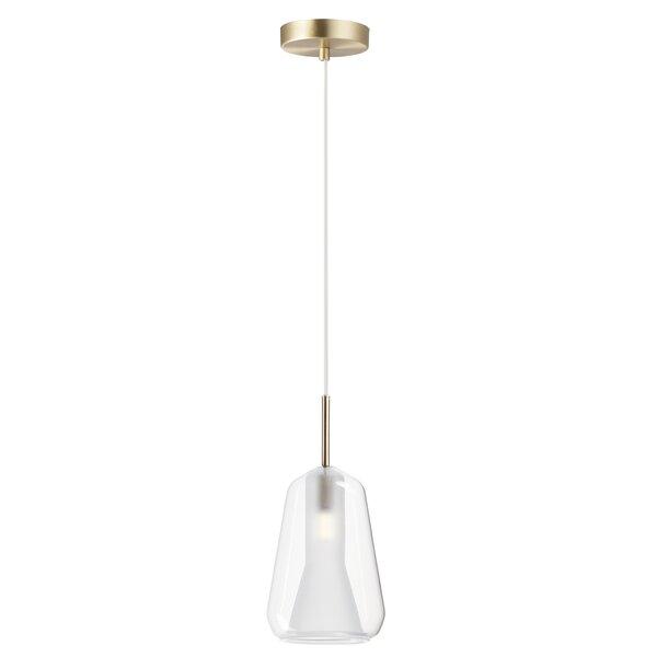 Stockwood 1 Light Single Bell Pendant Allmodern