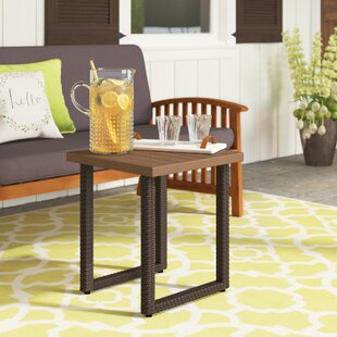 Columbard Aluminum Side Table by Charlton Home Great price