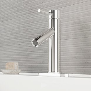 Best Deals Alicia Single Lever Basin Bathroom Faucet with Deck Plate By VIGO