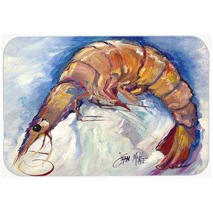 Shrimp Glass Cutting Board ByCaroline's Treasures