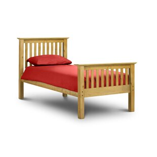 Bishop Single (3') Bed Frame With Mattress By August Grove