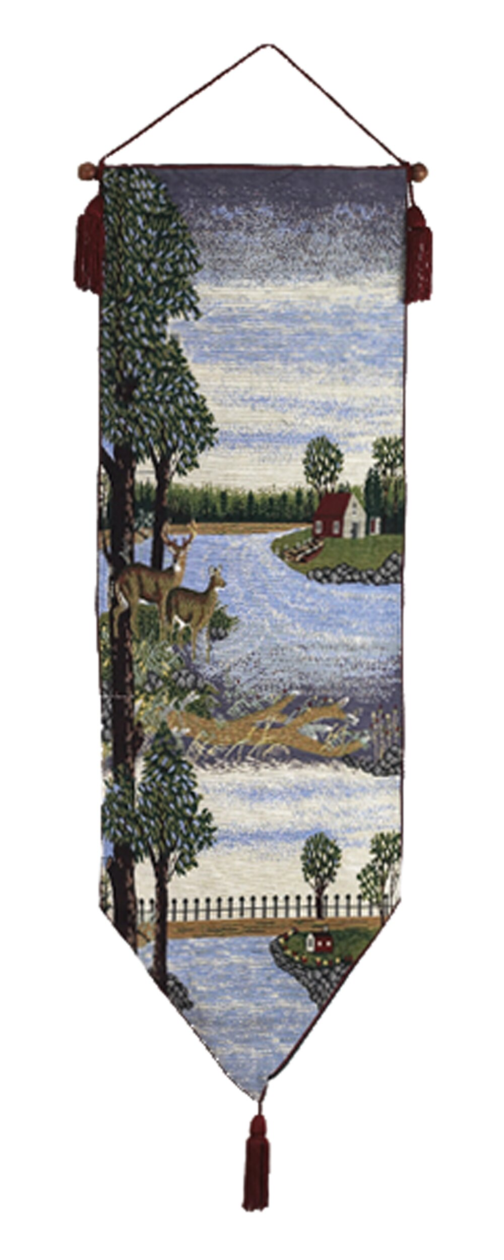 Loon Peak Two Deer Wall Hanging Wayfair