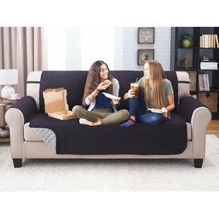 Winston Porter Reversible Extra Wide Sofa Slipcover
