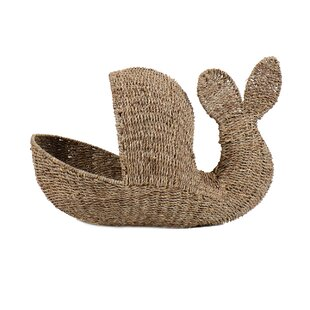 Low priced Whale Storage Basket By Breakwater Bay
