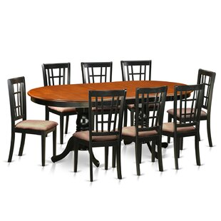 Pilcher 9 Piece Extendable Dining Set