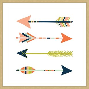 'Arrows' Framed Painting Print
