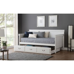 Murray Twin Daybed with Trundle by Canora Grey
