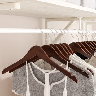 Purchase Wooden Top Hanger (Set of 100) By Rebrilliant