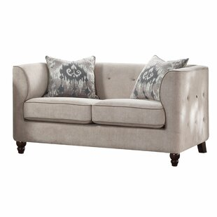 Quartz Loveseat by Bungalow Rose Fresh