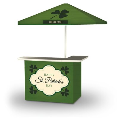Yussuf St Patricks Day Old Irish Beer 2-Piece Home Bar Set by East Urban Home Purchase
