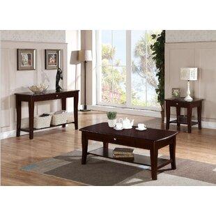 A&J Homes Studio Lagoon 3 Piece Coffee Table Set