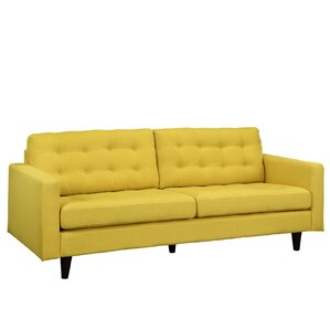Princess Upholstered Sofa by Modway