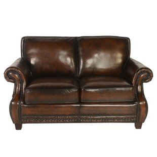 Moreno Leather Loveseat