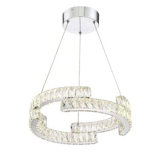 Rosdorf Park Barbery 1-Light LED Pendant