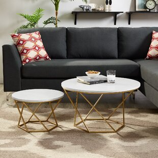 Louisiana Nesting 2 Piece Coffee Table Set