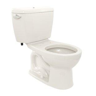 Toto Drake 1.6 GPF Round Two-Piece Toilet