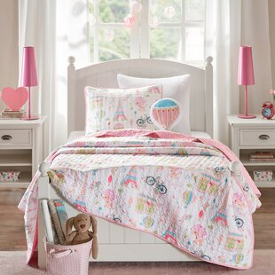 Rachael Reversible Coverlet Set