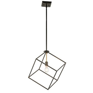 Cooksey 1-Light Mini Pendant  sc 1 st  AllModern & Modern Square/Rectangular Shaped Pendant Lighting | AllModern azcodes.com