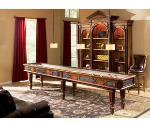 Elegant Scroll 12 Shuffleboard Table
