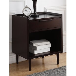 George Oliver Whitman 1 Drawer Nightstand