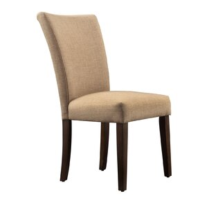 Hindsboro Linen Parson Chair (Set of 2..