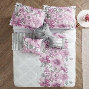 Kip 7 Piece Reversible Comforter Set