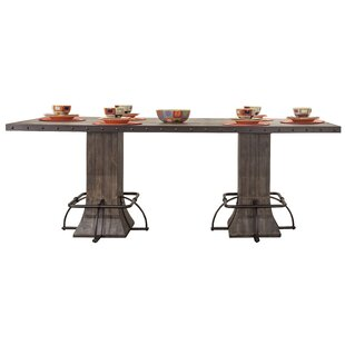 Cathie Rectangle Counter Height Dining Table by Gracie Oaks Discount