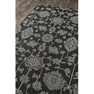 Craine Charcoal Indoor/Outdoor Area Rug