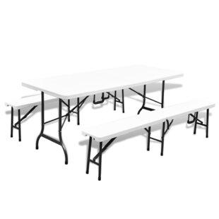 d5a76f8e49d73 Parasol Hole Plastic Garden Tables You'll Love | Wayfair.co.uk