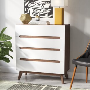 Brydon 4 Drawer Wood Chest by George Oliver