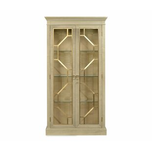 Opera Two-Door Lighted Curio Cabinet