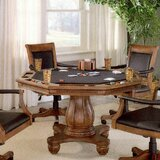 Strawn 56.25 8 - Player Poker Table by Darby Home Co