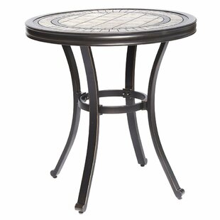 Glaser Handmade Aluminum Bistro Table