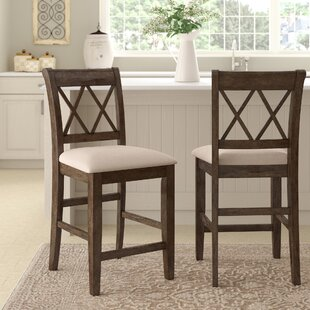 Compare & Buy Clearmont 22 Bar Stool (Set of 2) by Three Posts Reviews (2019) & Buyer's Guide
