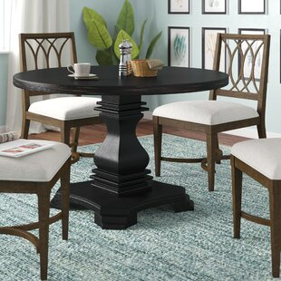 Jaquez Solid Wood Dining Table Alcott Hill